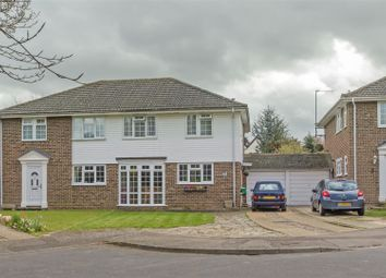 Thumbnail 3 bed semi-detached house for sale in Woodcourt Close, Sittingbourne