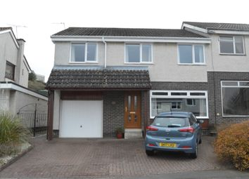Thumbnail 4 bed semi-detached house for sale in Killin Drive, Polmont, Falkirk