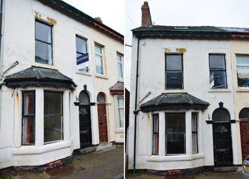 Thumbnail 5 bedroom end terrace house for sale in Garden Terrace, Blackpool