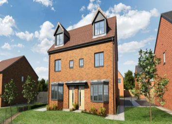 Thumbnail 3 bed detached house for sale in Knott Mill Way, Castlefields, Runcorn
