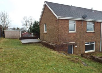 Thumbnail 3 bed semi-detached house for sale in Ffordd Aneurin, Pontyberem, Pontyberem, Carms