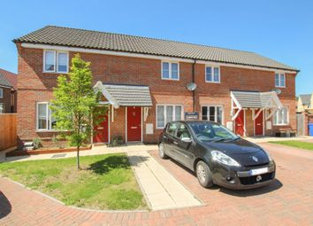 Thumbnail 2 bedroom terraced house for sale in St. Peters Close, Kedington, Haverhill