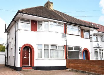 Thumbnail 3 bed semi-detached house for sale in Felbridge Avenue, Stanmore, Middlesex