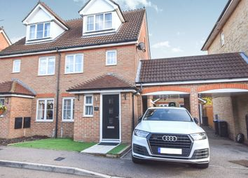 Thumbnail 3 bed town house for sale in Malkin Drive, Church Langley, Harlow