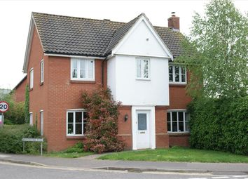 Thumbnail 4 bed link-detached house for sale in Merryweather Road, Swaffham