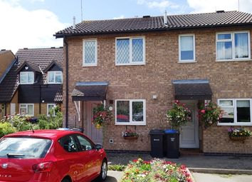 Thumbnail 2 bed town house for sale in Darwin Close, Broughton Astley, Leicester, Leicestershire