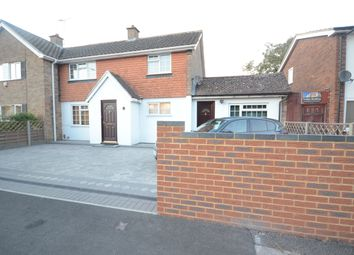 Thumbnail 3 bed semi-detached house to rent in Beechwood Avenue, Woodley, Reading