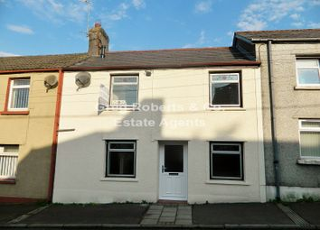 Thumbnail 2 bed terraced house to rent in Beaufort Road, Tredegar, Blaenau Gwent.