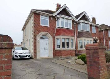 Thumbnail 3 bed semi-detached house for sale in Melton Place, Thornton-Cleveleys