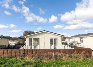 Thumbnail 2 bed mobile/park home for sale in Riverside, Quiet Waters Park, Hemingford Abbots, Huntingdon, Cambridgeshire