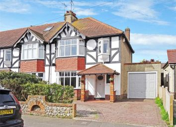 Thumbnail 3 bedroom end terrace house for sale in Balcombe Avenue, Broadwater, Worthing
