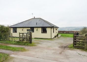 Thumbnail 2 bedroom detached bungalow for sale in Wheddon Cross, Minehead