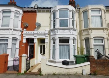 Thumbnail 3 bedroom terraced house to rent in Chichester Road, Portsmouth