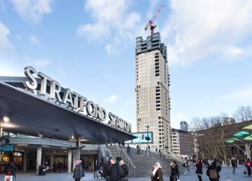 Thumbnail 3 bed flat for sale in Stratford Central, Stratford, London