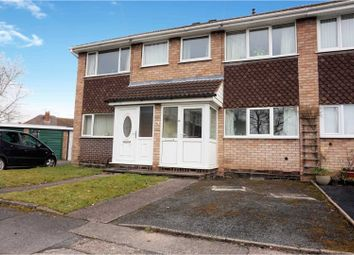 Thumbnail 3 bed terraced house for sale in Tibberton Close, Bradmore, Wolverhampton