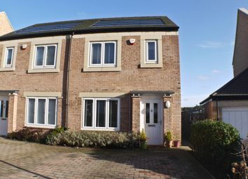 Thumbnail 2 bedroom semi-detached house for sale in Beechwood Drive, Prudhoe