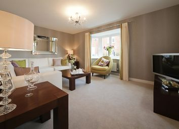 "Thumbnail 3 bed detached house for sale in ""The Hatfield"" at Snowberry Lane, Wellesbourne, Warwick"