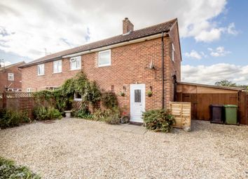 Thumbnail 3 bed semi-detached house for sale in Wellingham Road, Litcham, King's Lynn