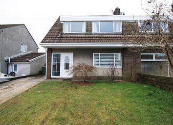 4 bed semi-detached house for sale in Heol Caerlan, Beddau, Pontypridd, Rhondda, Cynon, Taff. CF38