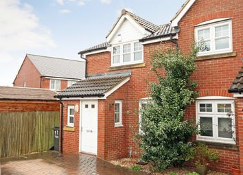 Thumbnail 2 bed semi-detached house for sale in Henlow Drive, Kingsway, Quedgeley, Gloucester