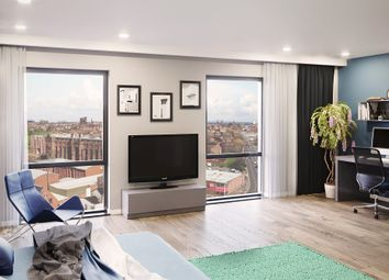 Thumbnail 1 bedroom flat for sale in One Islington Plaza Student Studios, Devon Street, Liverpool