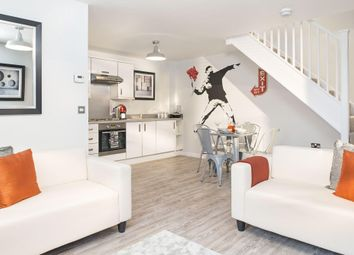 "Thumbnail 2 bed semi-detached house for sale in ""Amber"" at Southern Cross, Wixams, Bedford"