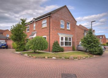 Thumbnail 4 bed detached house for sale in Fangdale Court, Bridlington