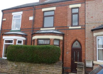 Thumbnail 4 bed terraced house for sale in Ladycroft Avenue, Hucknall, Nottingham