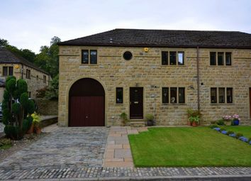 Thumbnail 3 bed semi-detached house for sale in Stockwell Vale, Armitage Bridge, Huddersfield