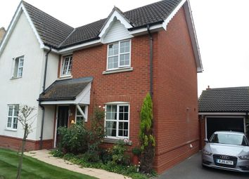 Thumbnail 5 bed detached house for sale in Swift Drive, Stowmarket