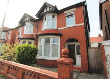 Thumbnail 3 bed semi-detached house for sale in Gorse Road, Blackpool