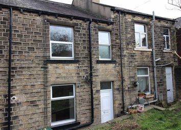 Thumbnail 1 bed terraced house to rent in John Street, Milnsbridge, Huddersfield