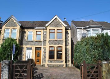 Thumbnail 3 bed semi-detached house for sale in Gwerthonor Road, Gilfach, Bargoed