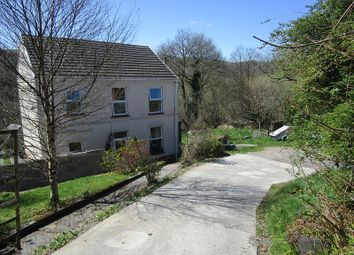 Thumbnail 3 bed detached house for sale in Heol Tredeg, Upper Cwmtwrch, Swansea.