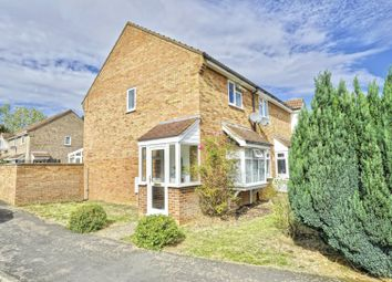 Thumbnail 2 bed end terrace house for sale in Meadowsweet, Eaton Ford, St Neots