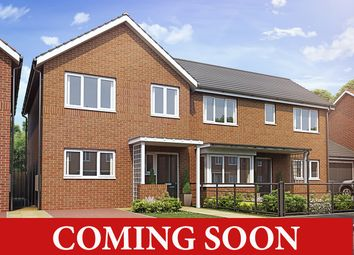 Thumbnail 2 bedroom semi-detached house for sale in Coming Soon, Perry Common, Birmingham