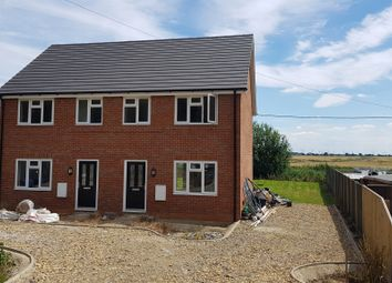 Thumbnail 3 bedroom semi-detached house for sale in March Road, Guyhirn, Wisbech
