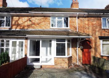Thumbnail 2 bed terraced house to rent in Hollyhock Road, Hall Green, Birmingham