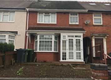 Thumbnail 3 bed terraced house for sale in St. Stephens Road, West Bromwich