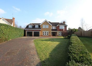 Thumbnail 5 bedroom detached house for sale in Belfry Lane, Collingtree Park, Northampton, Northamptonshire