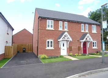 Thumbnail 3 bedroom semi-detached house to rent in Willow Meadow Road, Ashbourne