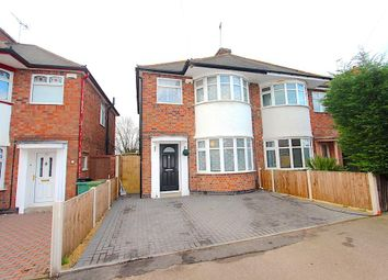 Thumbnail 3 bed semi-detached house for sale in Hathaway Avenue, Braunstone, Leicester