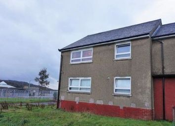 Thumbnail 2 bed flat for sale in Wren Road, Greenock