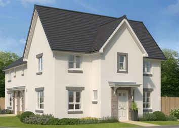 "Thumbnail 3 bed end terrace house for sale in ""Abergeldie"" at Charolais Lane, Huntingtower, Perth"