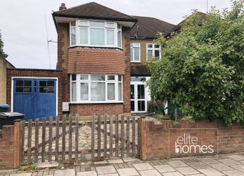 Thumbnail 4 bed semi-detached house to rent in Bullsmoor Lane, Enfield