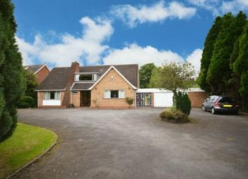 Thumbnail 4 bed detached bungalow for sale in Alcester Road, Wythall, Birmingham.B47