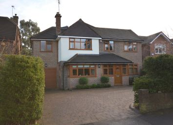 Thumbnail 4 bed detached house to rent in Newberries Avenue, Radlett
