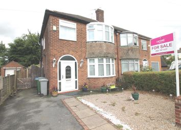 Thumbnail 3 bed semi-detached house for sale in Western Road, Flixton, Urmston, Manchester