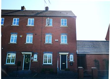 Thumbnail 4 bed semi-detached house for sale in Station Road, Rolleston-On-Dove, Burton-On-Trent