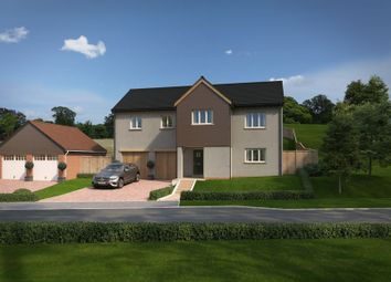 Thumbnail 4 bed detached house for sale in Tarka Way, Crediton